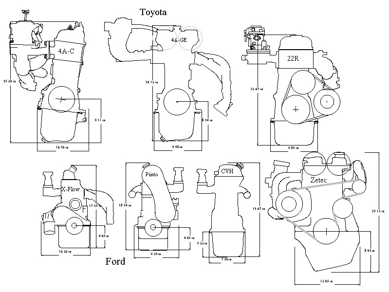 clubman builders resource engine rh locost7 info Ford Engine Parts ford kent crossflow engine manual