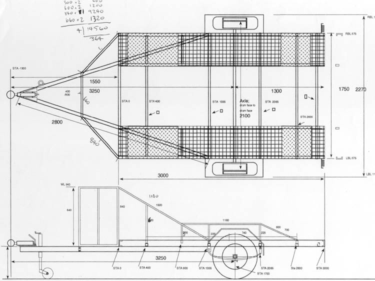 homebuilt car trailer plans