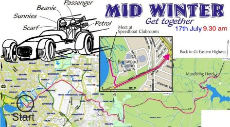 Mid Winter Get Together Map